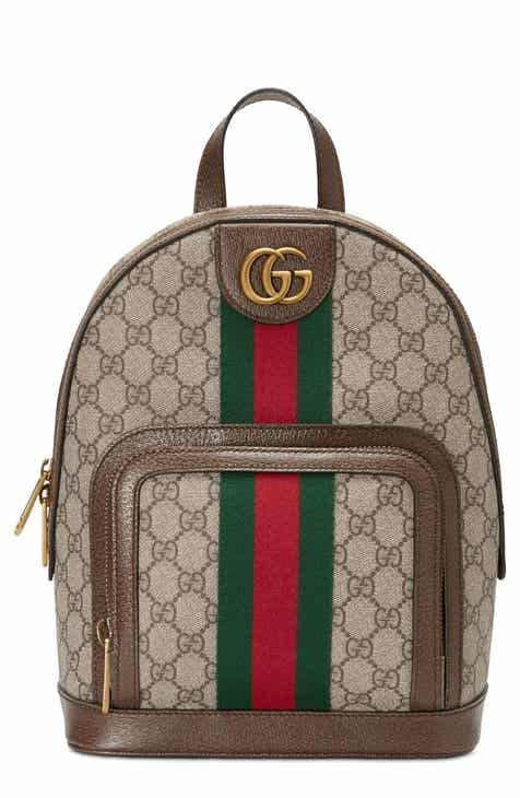 Gucci Small Ophidia GG Supreme Canvas Backpack 06830ac3f2f72