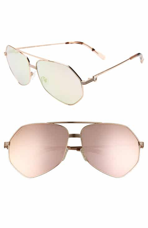 89c281ac23d4 DIFF Sydney 62mm Polarized Aviator Sunglasses