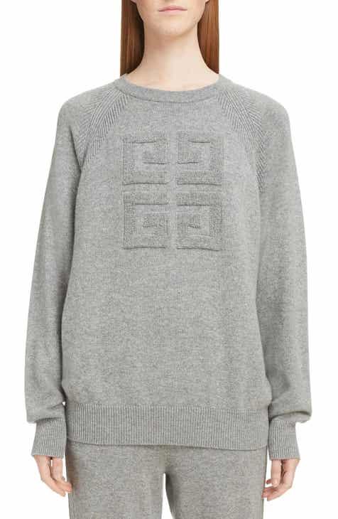 26b9c8eb64 Givenchy Embossed Logo Cashmere Sweater