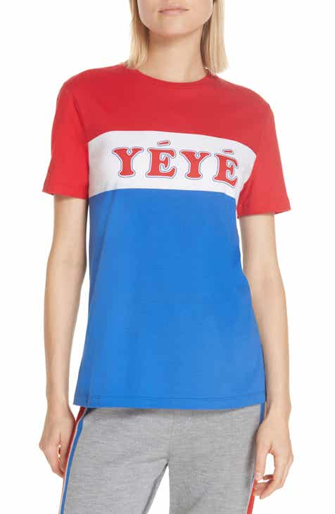 être cécile Yéyé Girls Graphic Tee 5b05430159