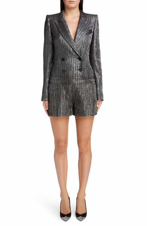 Isabel Marant Metallic Double Breasted Romper