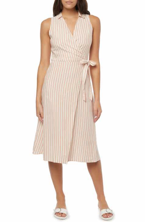 47a95448fa0 O Neill Skylie Midi Wrap Dress