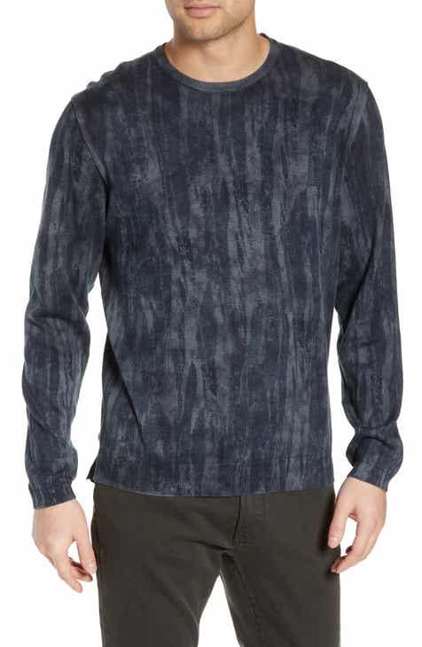 d2f4121d3ecbb John Varvatos Star USA Noah Slim Fit Distressed Crewneck Sweater.  Was  198.00. Now  98.9850% off