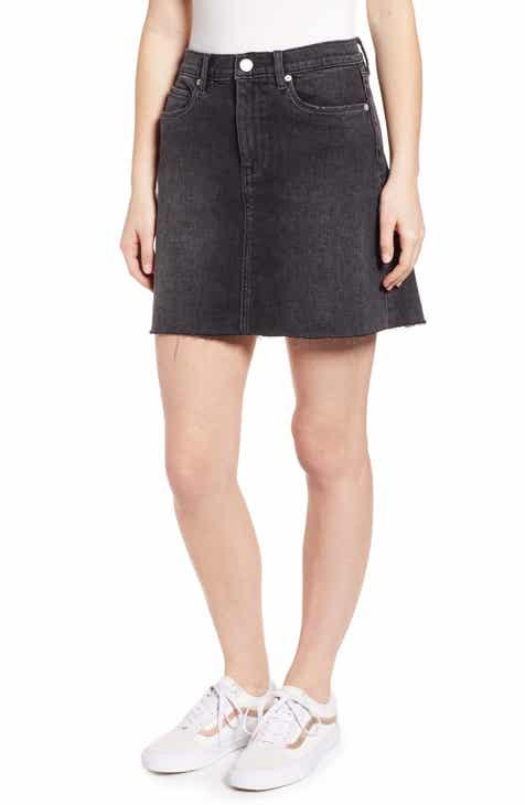 b9cafffea9 BLANKNYC Raw Hem Denim Skirt (Before and After)