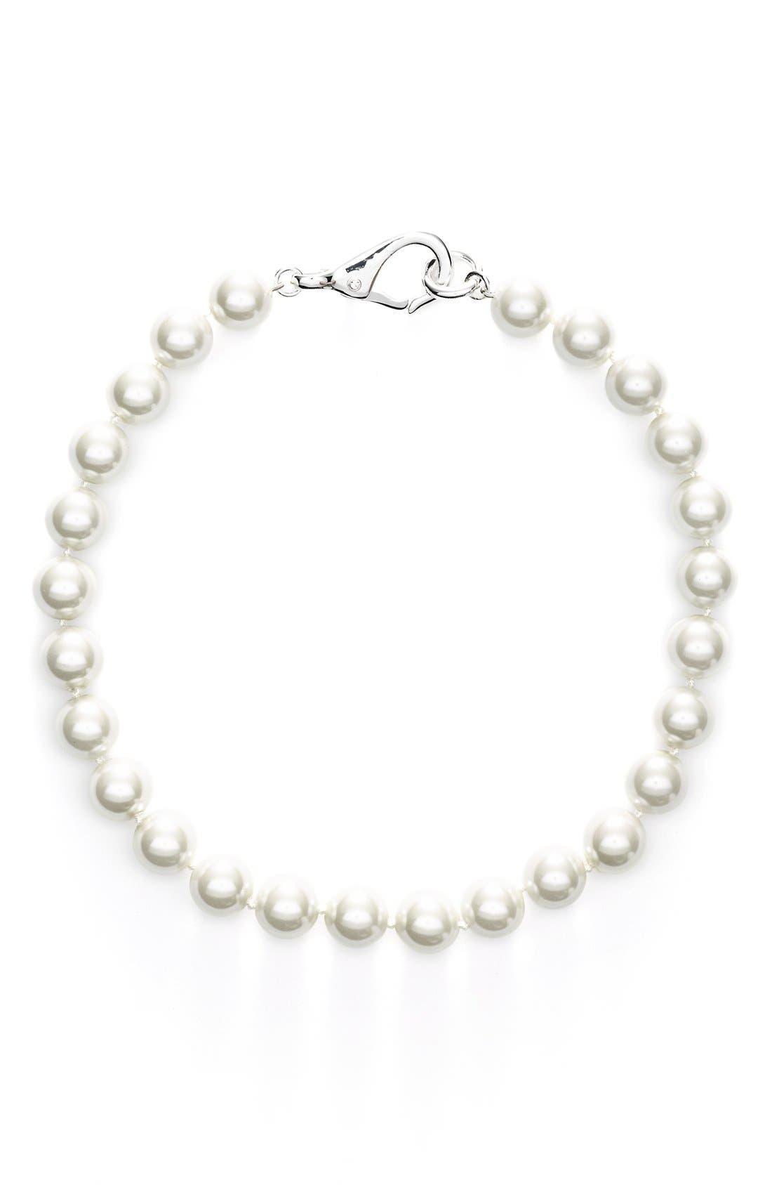 Alternate Image 2  - Lauren Ralph Lauren Faux Pearl Princess Necklace
