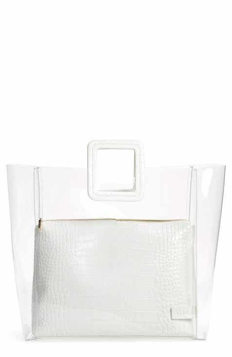 78b9a65f8292 STAUD Large Shirley Transparent Handbag