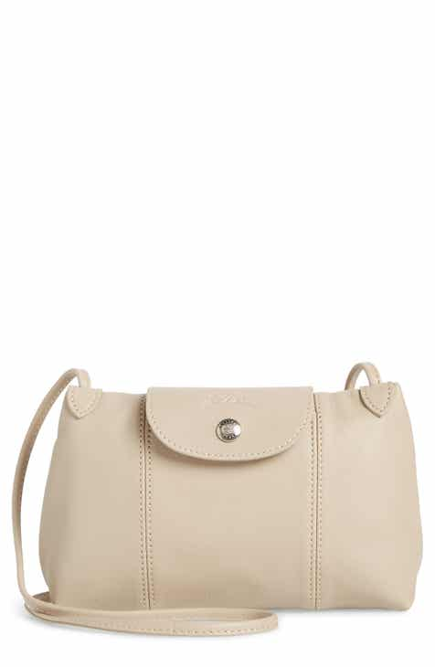 b3acb0ebe6dc Longchamp Le Pliage - Cuir Crossbody Bag