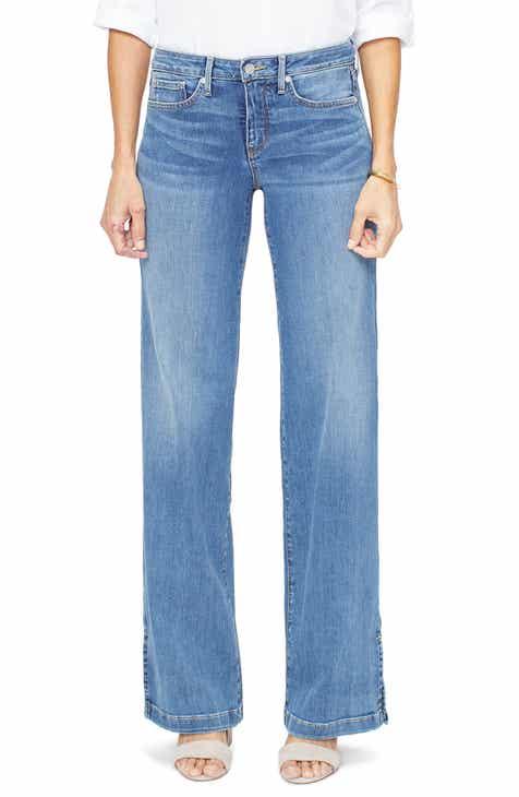 8129f25e32d NYDJ Wide Leg Trouser Jeans (Rhodes)