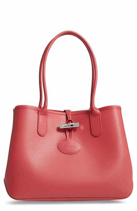 Red Tote Bags for Women  Leather