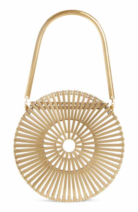 Cult Gaia Mini Luna Metal Bag