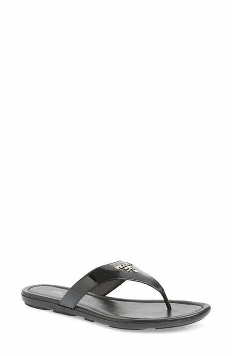 8d92a2d492ca Black Flip-Flops   Sandals for Women