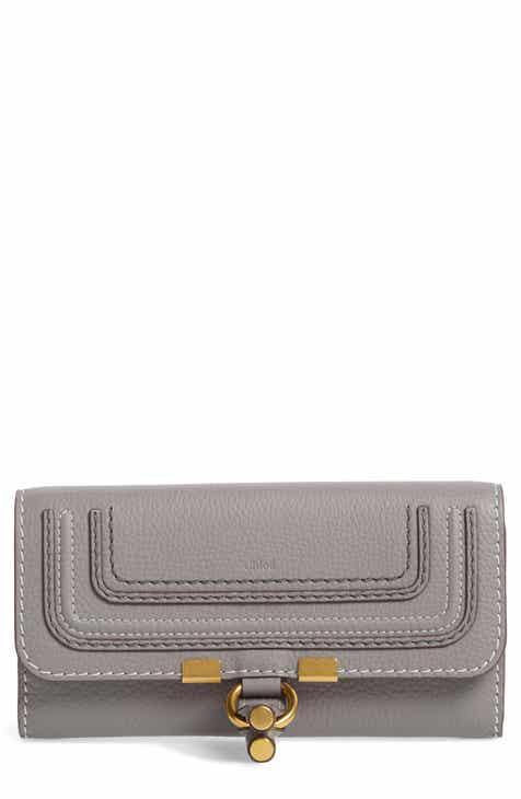 Chloé Marcie - Long Leather Flap Wallet 259f80e657