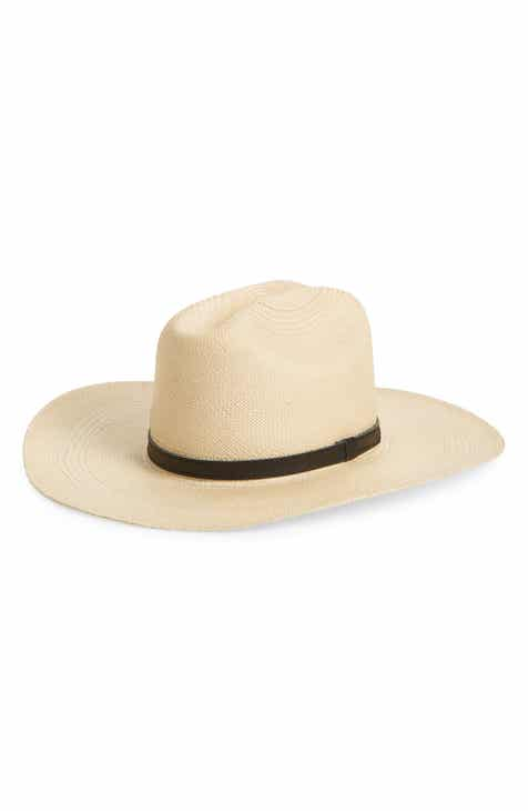 Frye Woven Panama Straw Hat a3ab3fe9aac0