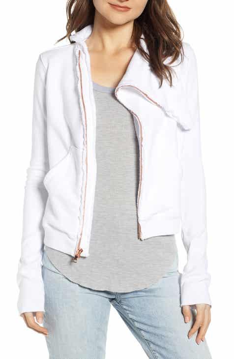 09462b5c Frank & Eileen Tee Lab Asymmetrical Zip Fleece Jacket