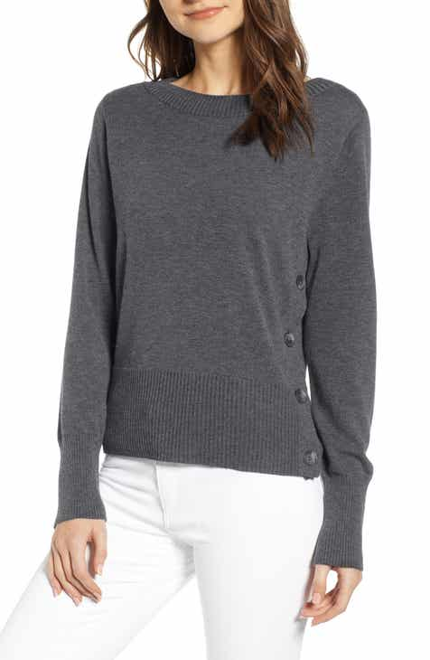 Brochu Walker Ashbey V-Neck Cotton Sweater by BROCHU WALKER