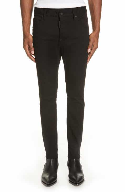 Dsquared2 Solid Skate Fit Jeans ab03a5025dc