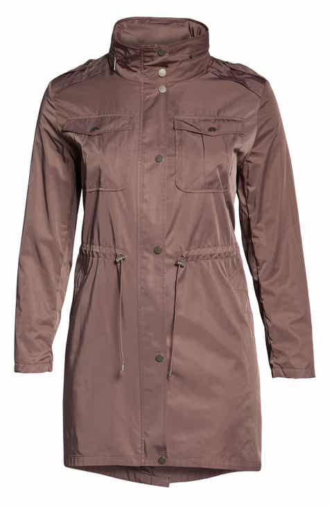 5bf56d904647 Badgley Mischka Dakota Raincoat (Plus Size)