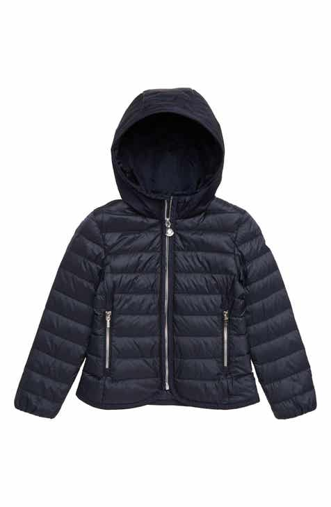 c7f852eed Moncler Takaroa Fitted Down Jacket (Little Girls & Big Girls)