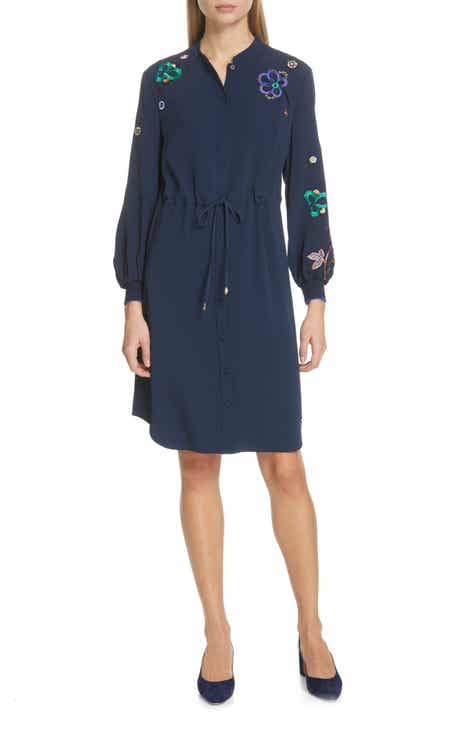 Akris punto Choker Neck Tunic Dress by AKRIS PUNTO