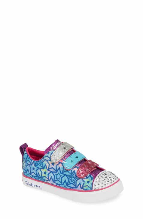 4c2376432271 SKECHERS Twinkle Toes Breeze 2.0 Light-Up & Glitter Sneaker (Toddler,  Little Kid & Big Kid)