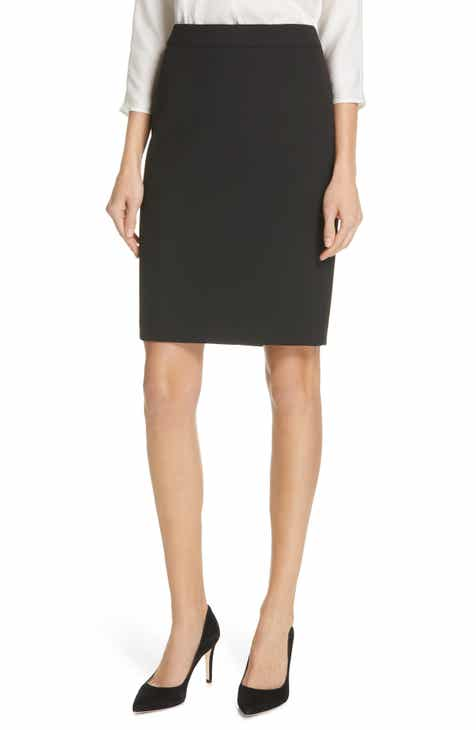 BOSS Vaina Soft Stretch Pencil Skirt by BOSS HUGO BOSS