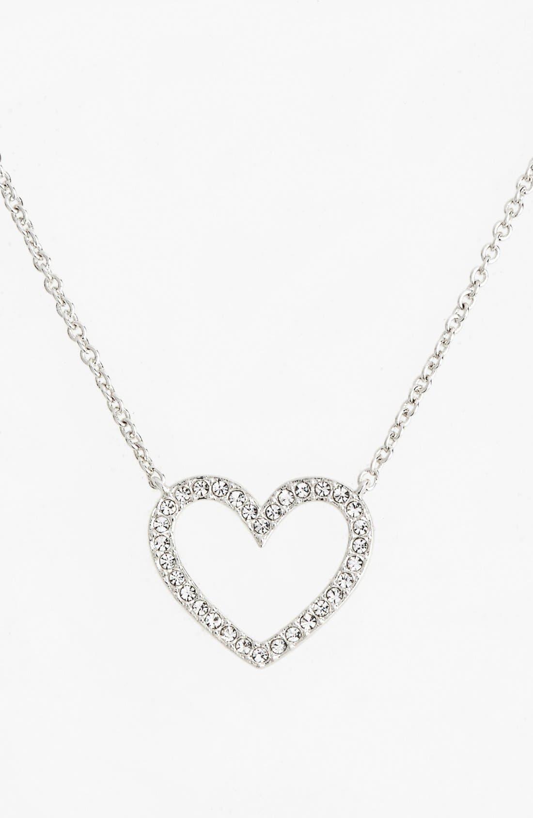 Alternate Image 1 Selected - Nadri Boxed Heart Pendant Necklace