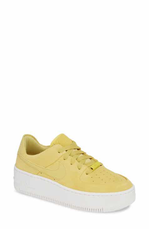 268e64c4fae2 Nike Air Force 1 Sage Low Platform Sneaker (Women)