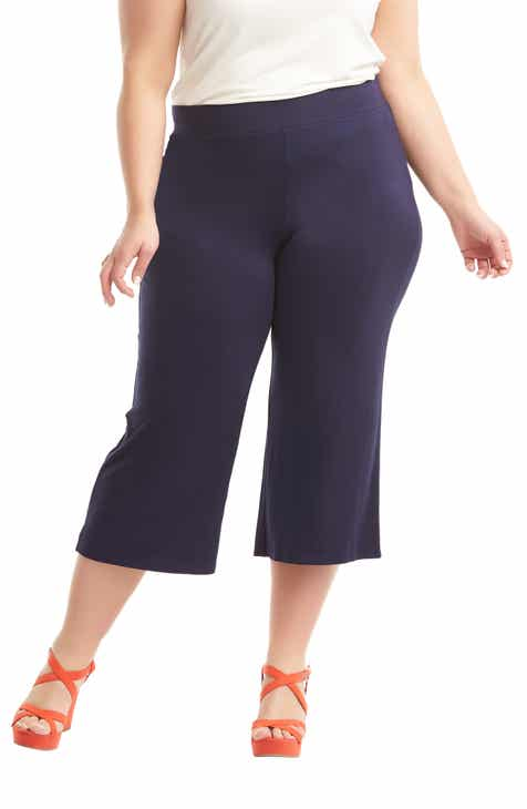 837367c6922 Lemon Tart Madison Crop Pants (Plus Size)