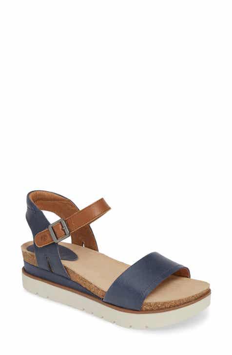 04c1f4294f7 Women s Blue Platform Sandals  Wedge
