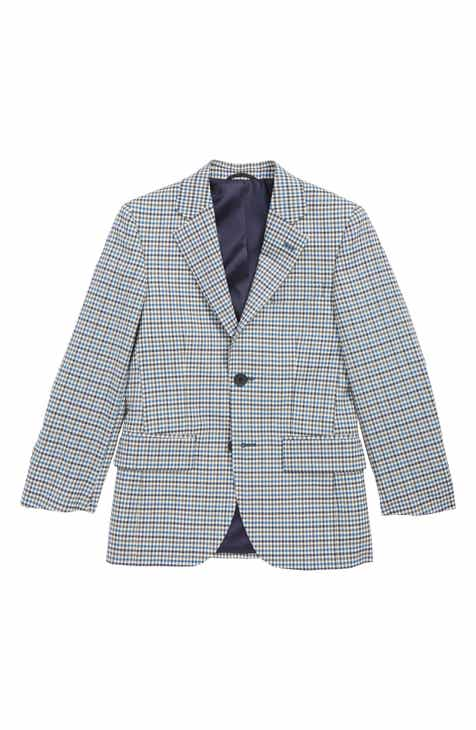 15a1219ecd JB Jr Check Wool Sport Coat (Big Boys)