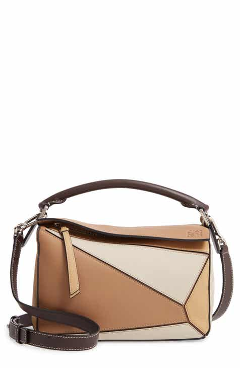 04d217603eb8 Loewe Small Puzzle Calfskin Leather Bag