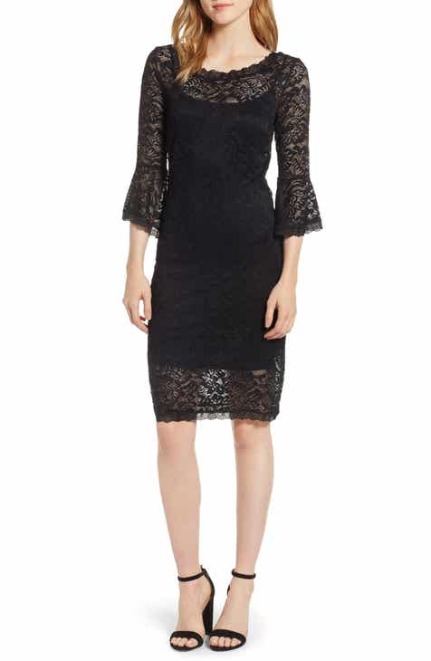 18689f21fb9ba Rosemunde Lace Bell Sleeve Dress