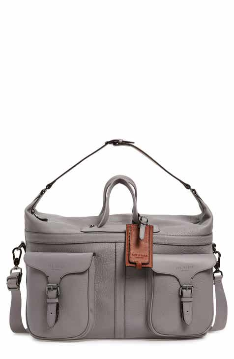 2511d41cef276d Ted Baker London Gansu Leather Holdall Bag