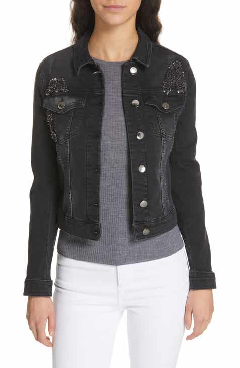 Ted Baker London Chinta Embellished Denim Jacket by TED BAKER LONDON