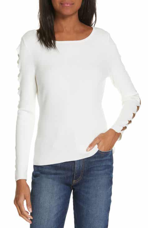 51023883d7682e Milly Cutout Sleeve Sweater