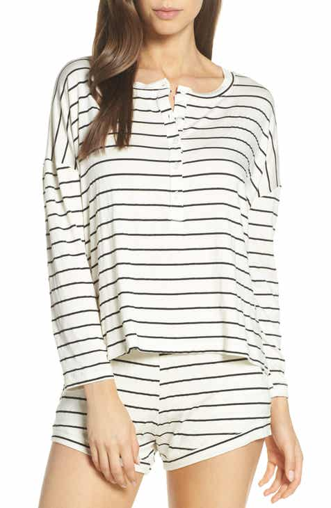 Maison du Soir Courtney Stripe Pajama Top by MAISON DU SOIR