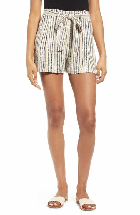 BP. Stripe Jacquard Linen Blend Shorts (Regular & Plus Size) By BP by BP 2019 Sale