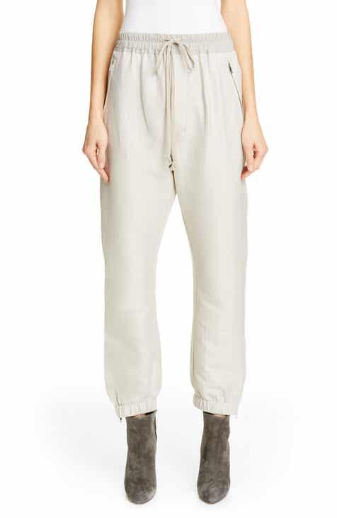 f424318bc73f Rick Owens Cotton   Silk Track Pants