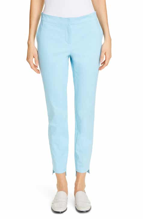 Tailored by Rebecca Taylor Crop Linen Blend Pants by TAILORED BY REBECCA TAYLOR