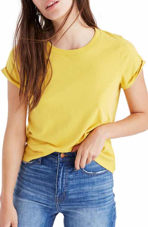 cefbe5d33f7 Madewell Northside Vintage Tee (Regular   Plus Size).  14.50. (162).  Product Image. YELLOW WHIP