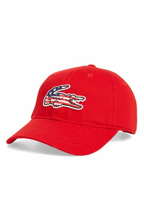 3160511b1f448 Lacoste Big Croc USA Appliqué Baseball Cap