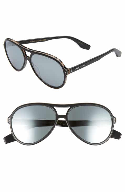 ced5eda176 MARC JACOBS 59mm Mirrored Aviator Sunglasses