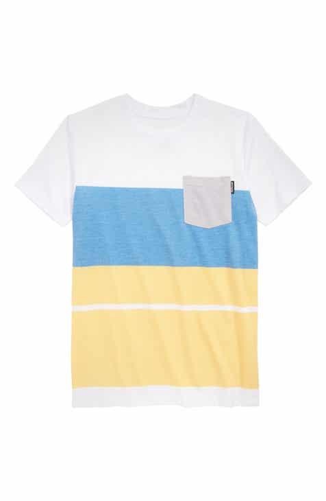 Grom Revert Pocket T-Shirt (Little Boys & Big Boys)