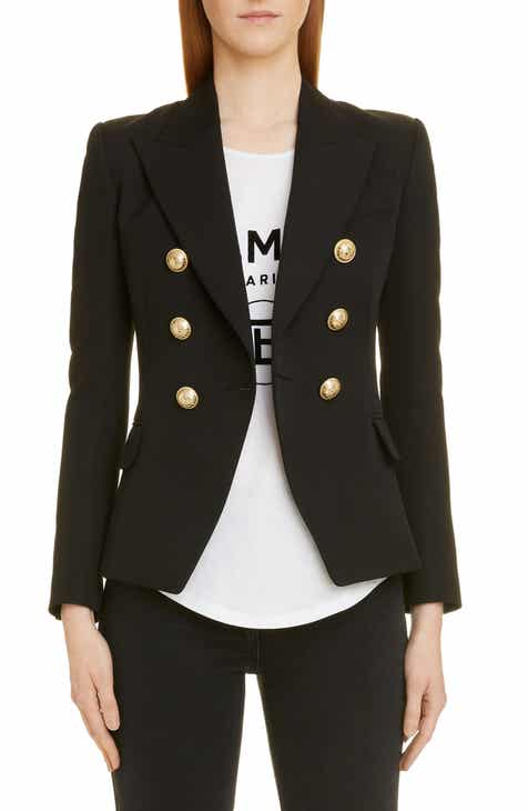 a48b2b60 Balmain Double Breasted Wool Jacket