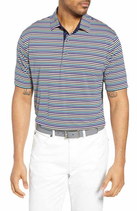 648a7465bea Bobby Jones XH2O Multi Stripe Performance Polo