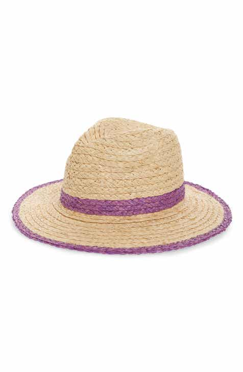 Treasure   Bond Contrast Trim Straw Panama Hat e69997c2c7e8