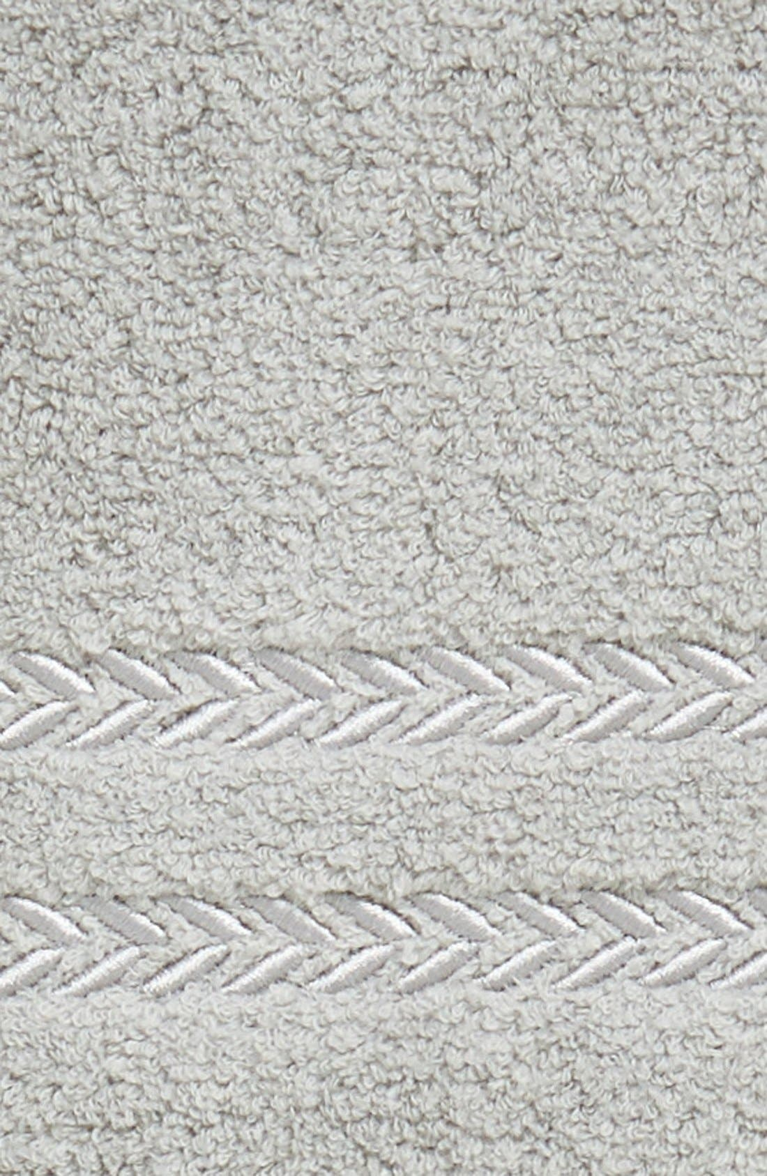 'Pearl Essence' Wash Towel,                             Alternate thumbnail 2, color,                             Smoke