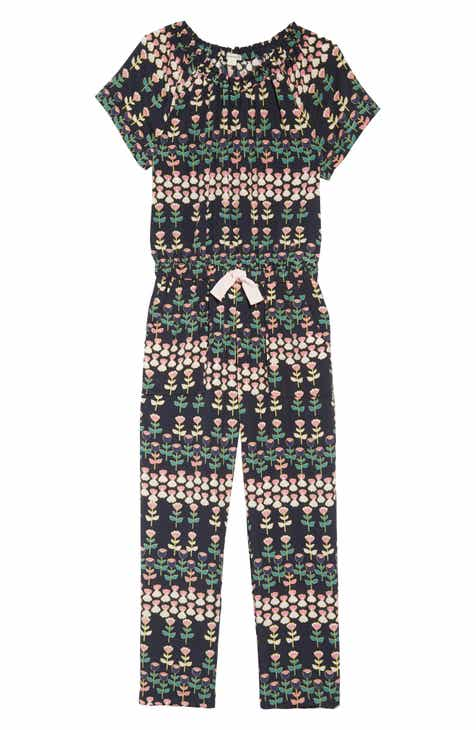 00137fcb3119 crewcuts by J.Crew Naomi Floral Print Jumpsuit (Toddler Girls