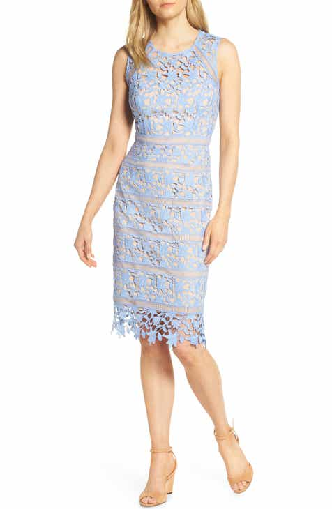 41449125d6 Eliza J Lace Midi Sheath Dress