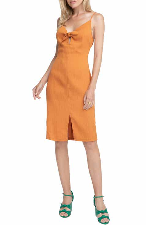 ASTR the Label Syd Tie Neck Dress